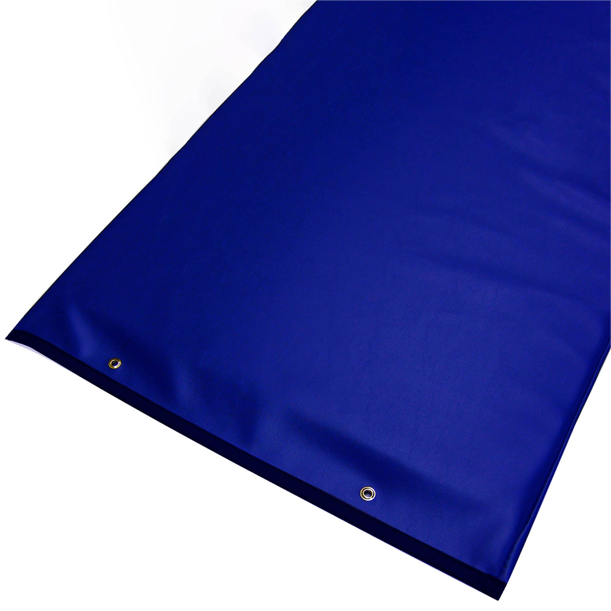 Standard Radiolucent X-Ray Firm Foam Table Pad - Blue Vinyl, With Grommets 72