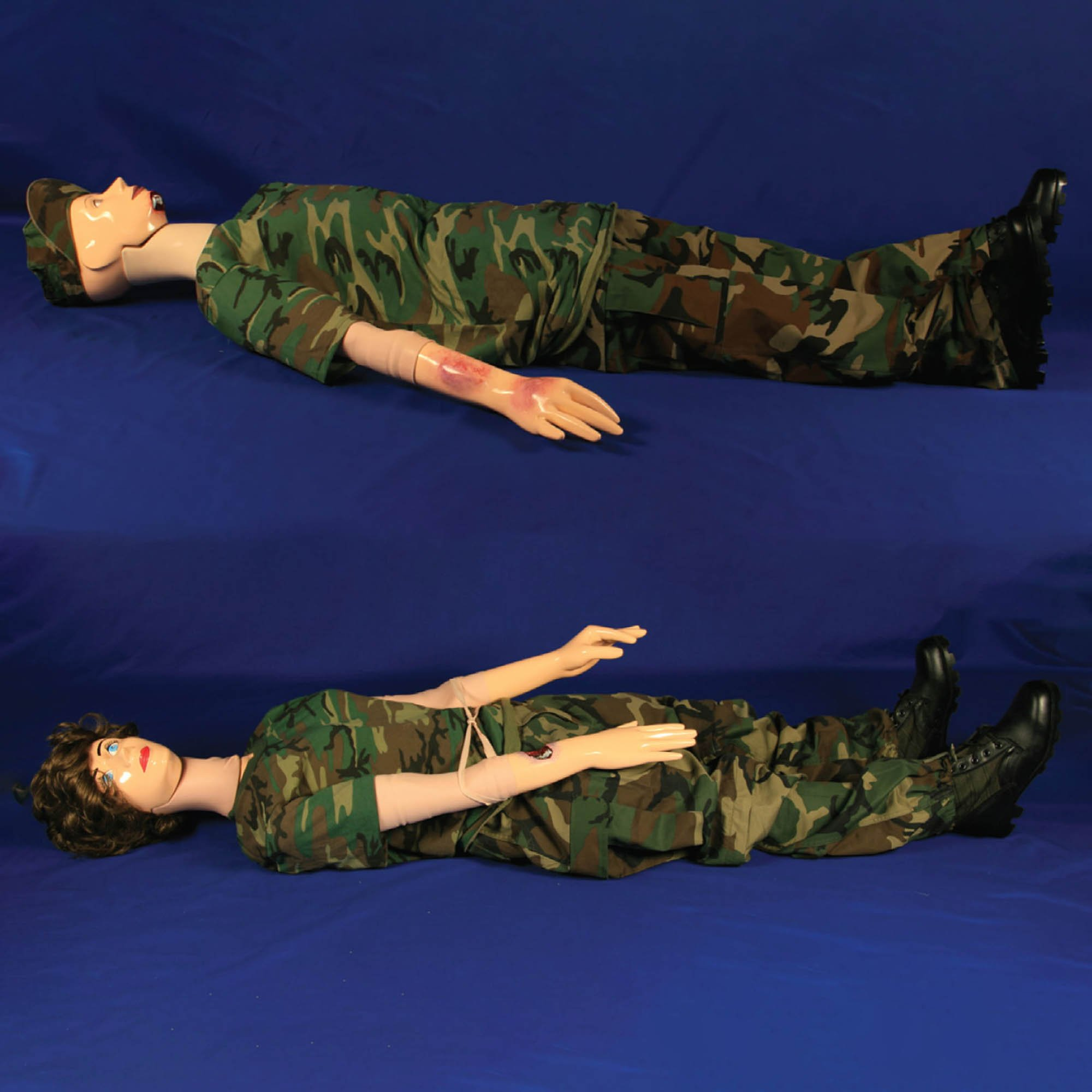 RSD Wounded Willy & Damaged Debbie Teaching Training Phantom System