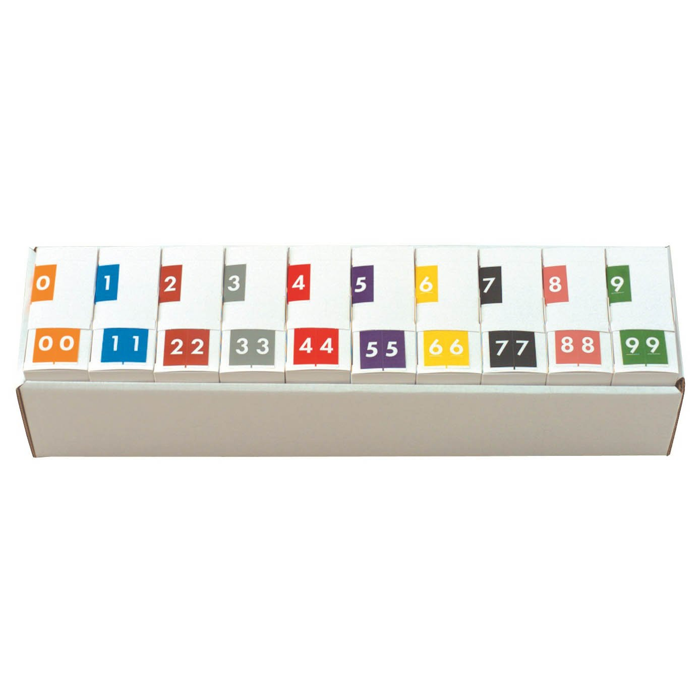 Barkley FNSFM Match SFNM Series Numeric Roll Labels - Set of Number 0 To 9