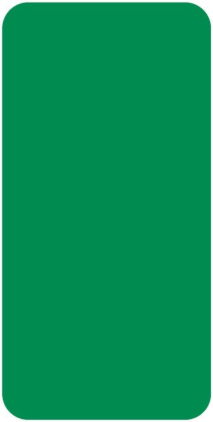 Smead CC Match SMLP Series Solid Color Roll Labels - Green
