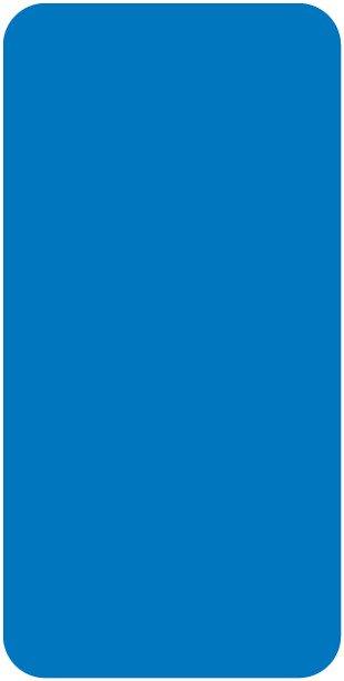 Smead CC Match SMLP Series Solid Color Roll Labels - Light Blue