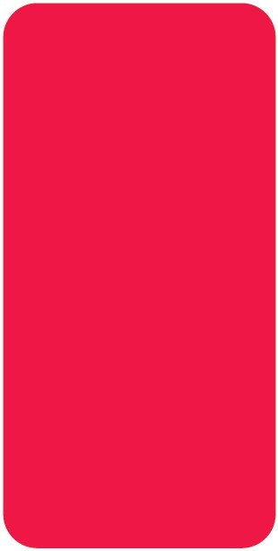 Smead CC Match SMLP Series Solid Color Roll Labels - Red