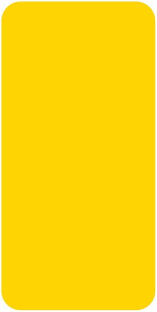 Smead CC Match SMLP Series Solid Color Roll Labels - Yellow