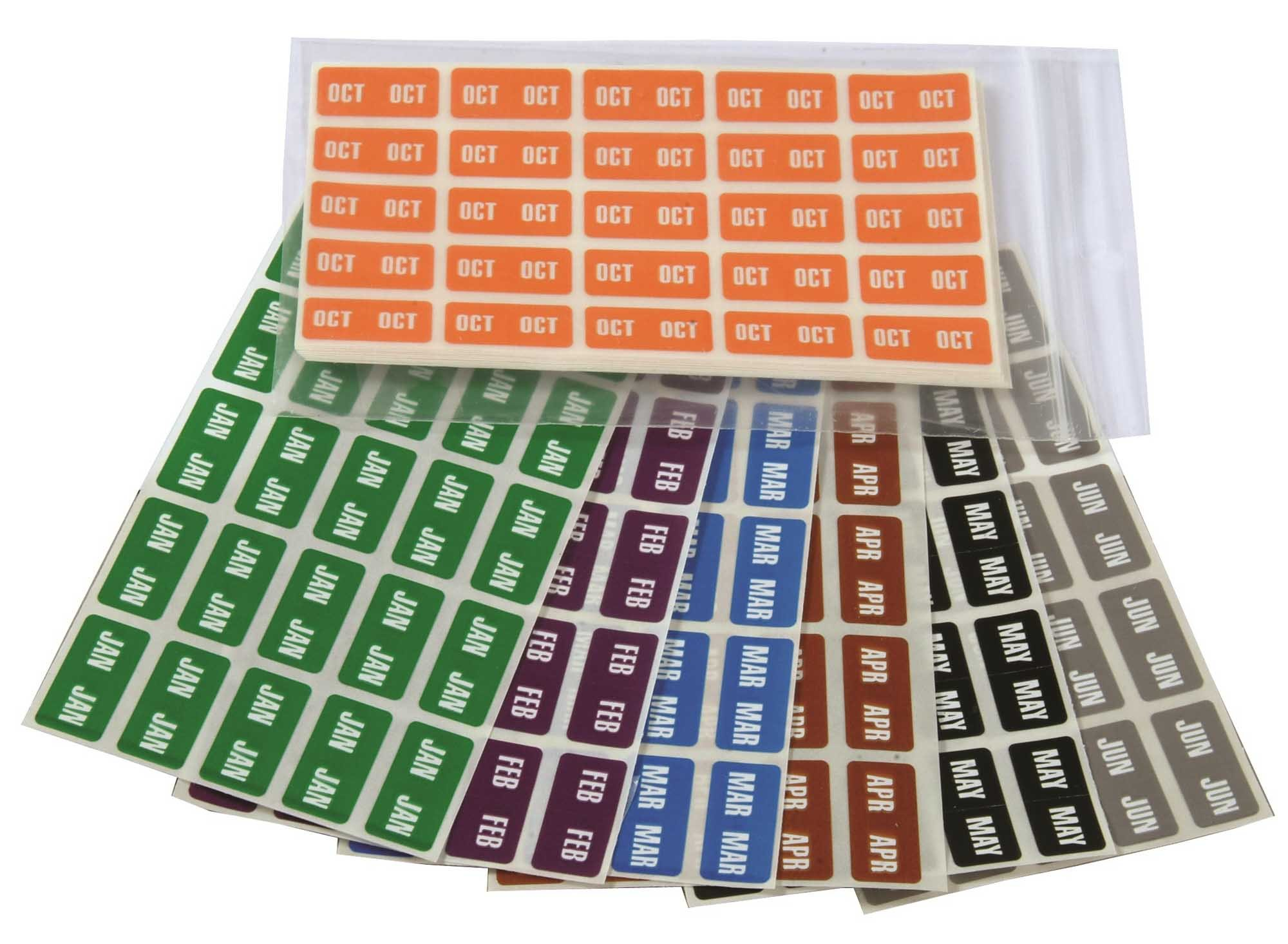 Smead ETS Match SMMK Series Month Sheet Labels - Set of January to December
