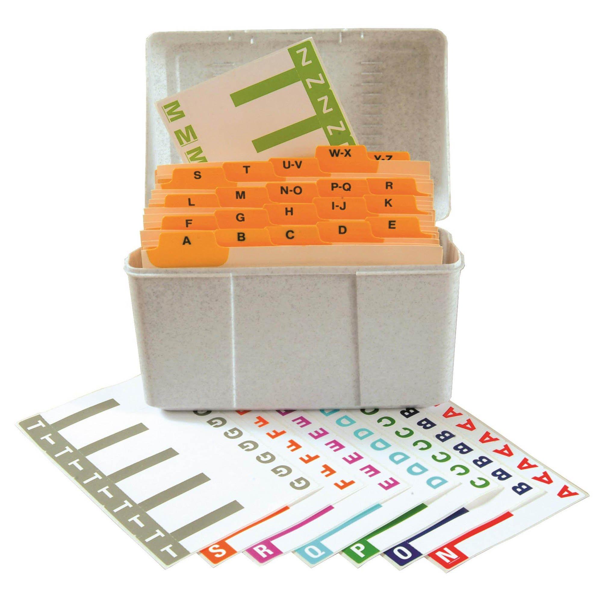 Smead NCC Match SNCC Series Alpha Sheet Labels - Desk Set