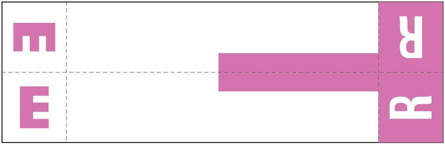 Smead NCC Match SNCC Series Alpha Sheet Labels - Letter E & R - Purple