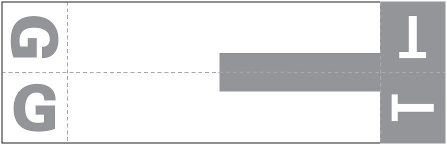Smead NCC Match SNCC Series Alpha Sheet Labels - Letter G & T - Gray