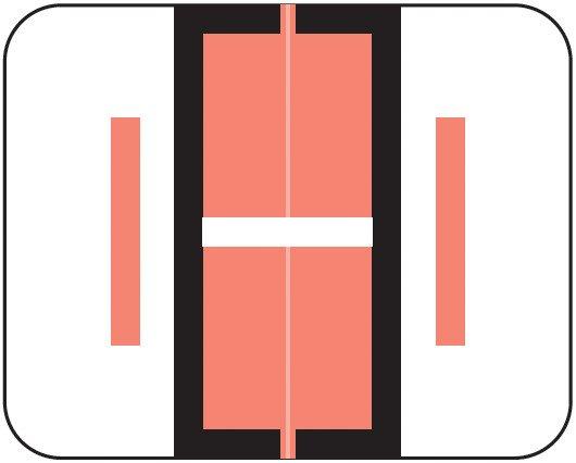 Smead BCCR Match TPAM Series Alpha Roll Labels - Letter I - Pink