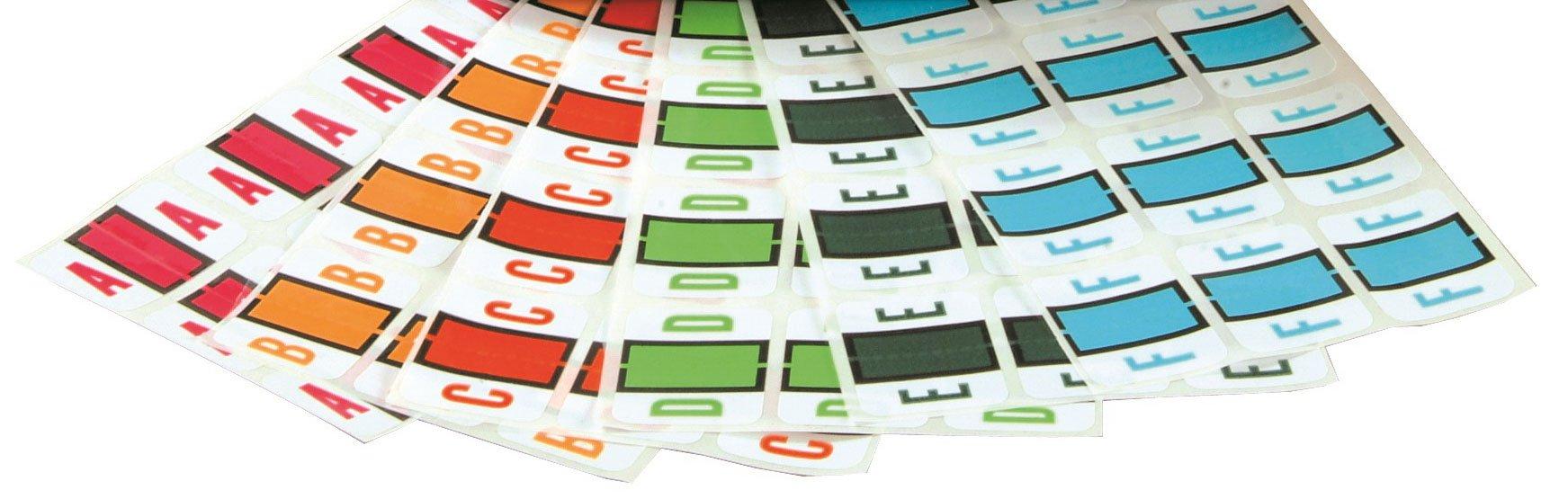 Smead BCCS Match TPPK Series Alpha Sheet Labels - A to Z Set