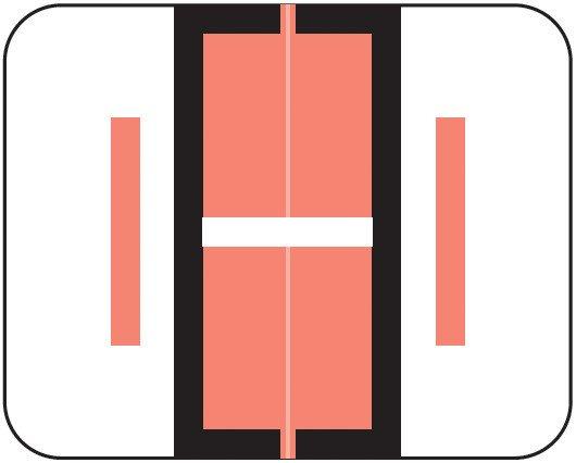 Smead BCCS Match TPPK Series Alpha Sheet Labels - Letter I - Pink