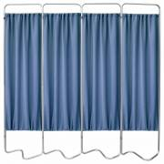Beamatic 4 Section Folding Privacy Screen - Norway Designer Cloth Screen Panel
