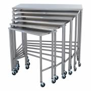 Nested Instrument Table - Complete Set of 6