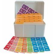 Barkley FABKM Match BRPK Series Alpha Sheet Labels - Desk Set