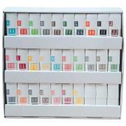 Tabbies 12000 Match CRAM Series Alpha Roll Labels A-Z Set