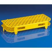 100-Place Snap-N-Racks Tube Rack for Microcentrifuge Tubes - Polypropylene - Yellow