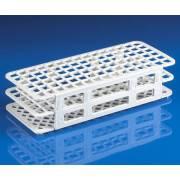 90-Place Snap-N-Racks Tube Rack for 12mm/13mm Tubes - Polypropylene - White