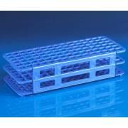 90-Place Snap-N-Racks Tube Rack for 12mm/13mm Tubes - Polypropylene - Blue