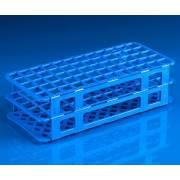 60-Place Snap-N-Racks Tube Rack for 16mm/17mm Tubes - Polypropylene - Blue