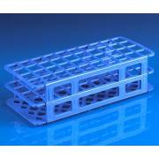 40-Place Snap-N-Racks Tube Rack for 20mm/ 21mm Tubes - Polypropylene - Blue