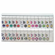 Jeter 0200 Match JAAM Series Alpha Roll Labels A-Z Set