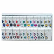 Jeter 2800 Match JEAM Series Alpha Roll Labels A-Z Set