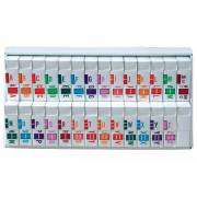 Jeter Tab 5100 Match JRAM Series Alpha Roll Labels A-Z Set