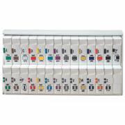 Jeter 2900 Match JSAM Series Alpha Roll Labels A-Z Set