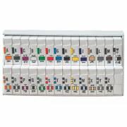 Jeter 7200 Match JTAM Series Alpha Roll Labels A-Z Set