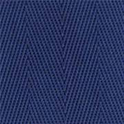 2-Piece Nylon Strap with Plastic Side Release Buckle & Loop-Lok Ends - 7' - Blue
