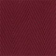 2-Piece Nylon Strap with Metal Push Button Buckle & Metal Roller Loop Ends - 5' - Maroon