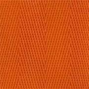 2-Piece Nylon Strap with Metal Push Button Buckle & Loop-Lok Ends - 5' - Orange