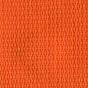 1-Piece Polypropylene Strap with Metal Roller Friction Buckle - 7' - Orange