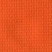2-Piece Polypropylene Strap with Metal Push Button Buckle & Metal Roller Loop Ends - 5' - Orange