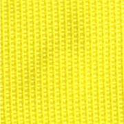 1-Piece Polypropylene Strap with Metal Double D Rings Buckle - 9' - Yellow