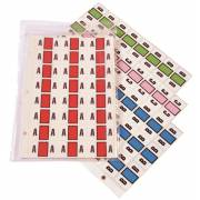 Safeguard 511 Match SG3R Series Alpha Sheet Labels A-Z Set