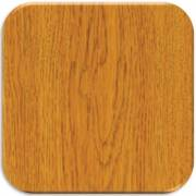 Harloff Wood Laminate In-Wall Medication Cabinet, Single Key Lock, Single Drop Door with Solara Oak Finish Panel