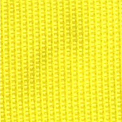 1-Piece Polypropylene Strap with Metal Roller Friction Buckle - 9' - Yellow