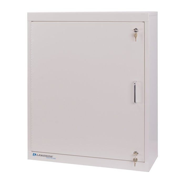 Lakeside Lnc 5 Large Narcotic Cabinet With Handle Single Door 2 Locks