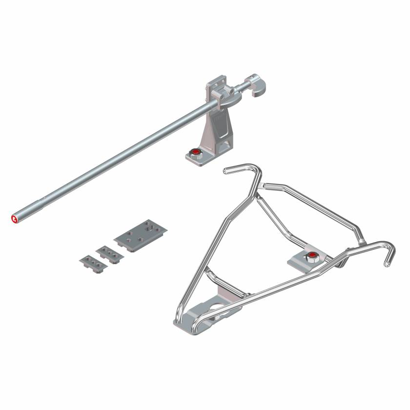 Ferno 000175SF Model 175 Standard Floor Mount Complete Fastening Kit