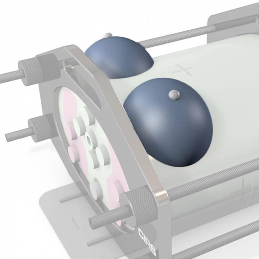 IMRT Phantom Accessory - Single Breast Attachment