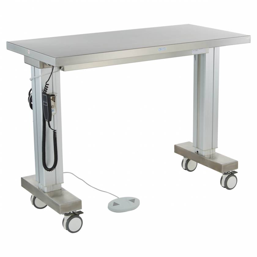 Blickman Model 7901SS-M Stainless Steel Motorized Instrument Table #0157901000