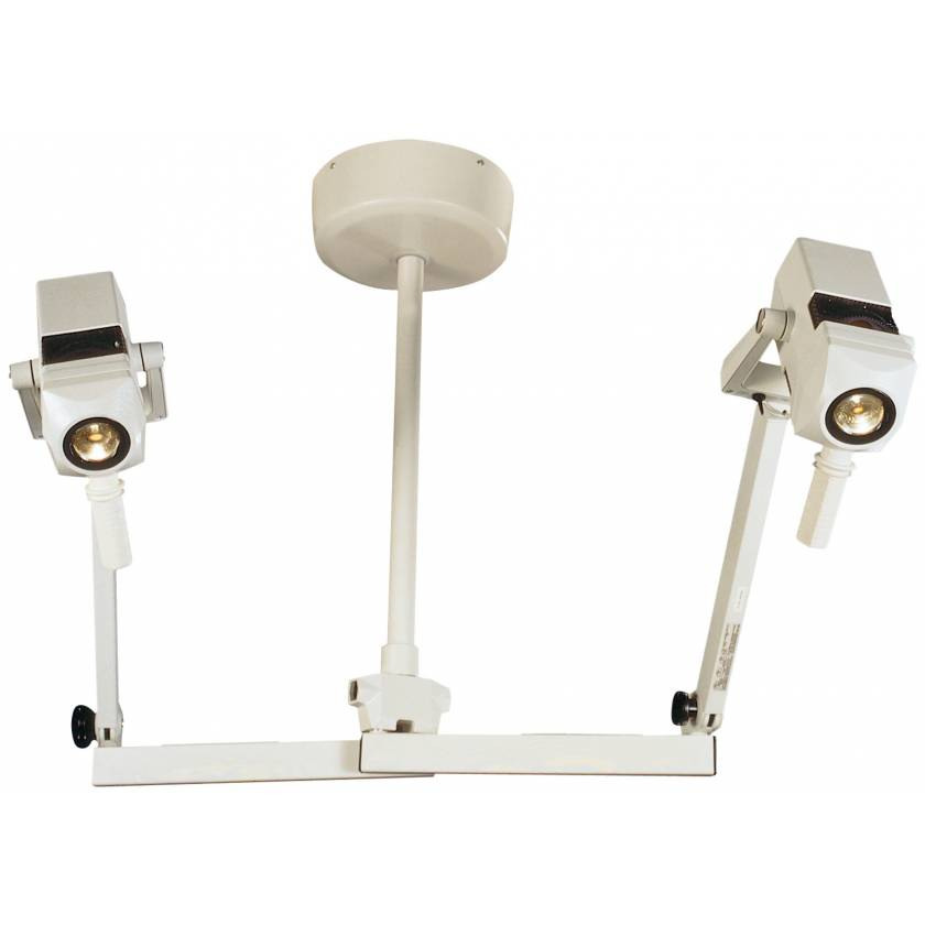 CoolSpot II Double Heads Ceiling Mount Exam Light