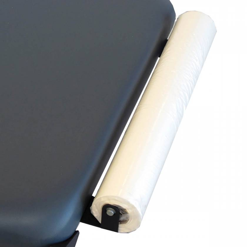 Optional Paper Dispenser (Includes Cutter Strap - Roll of Hygienic Table Paper is NOT included)