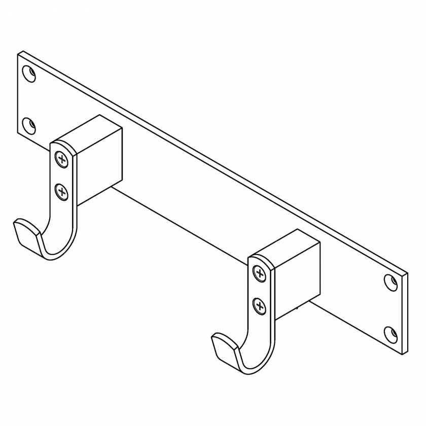 Ferno 0822073 Ferno Wall Bracket for Model 59-T EZ-Glide
