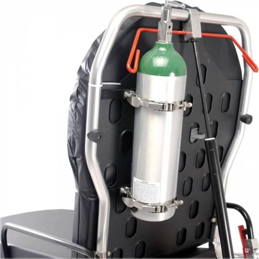 Ferno 0822111 PROFlexX Head-End O2 Cylinder Holder Mounts on Backrest
