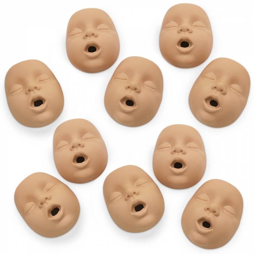 Simulaids Kim Infant CPR Manikin Mouth/Nosepieces - Light