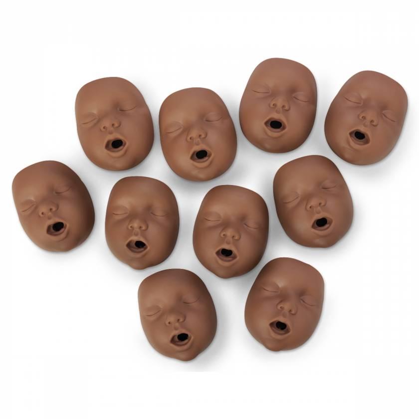 Simulaids Kim Infant CPR Manikin Mouth/Nosepieces - Dark