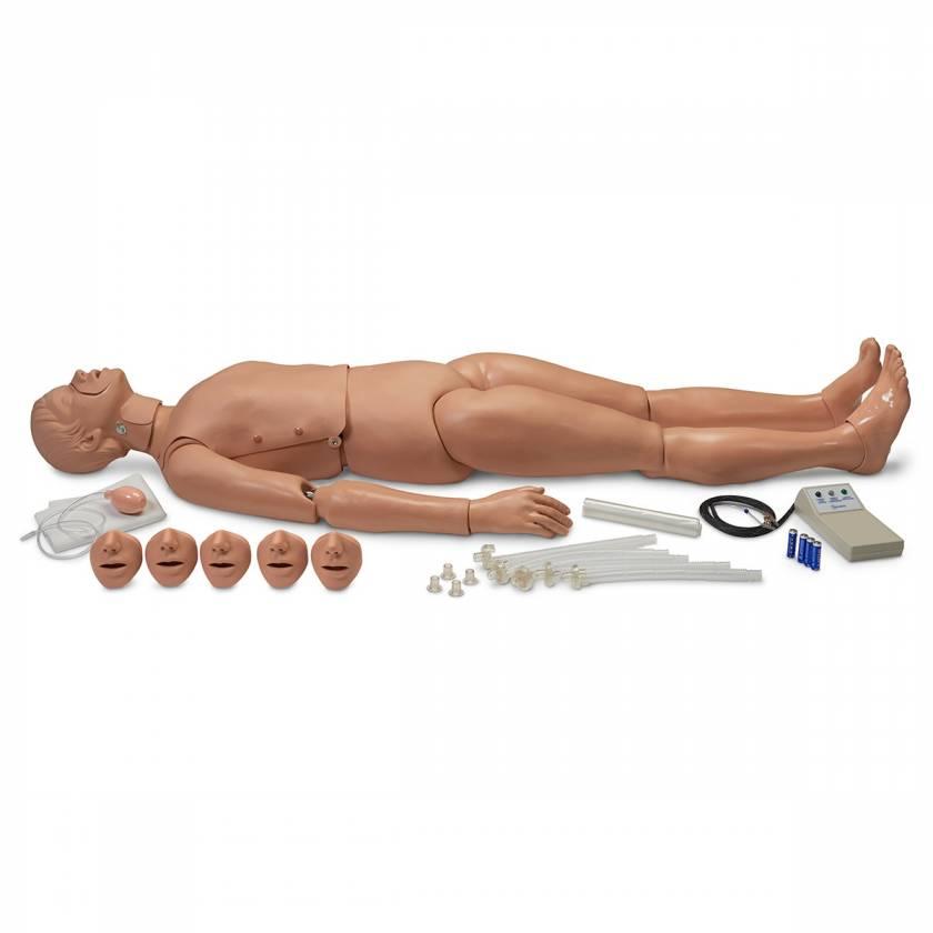 Simulaids Full-Body Trauma CPR Manikin with Electronics