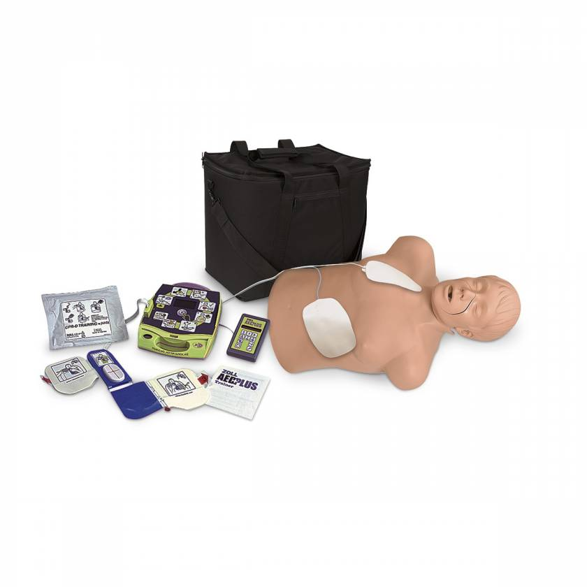 Zoll AED Trainer Package with Simulaids CPR Brad Manikin