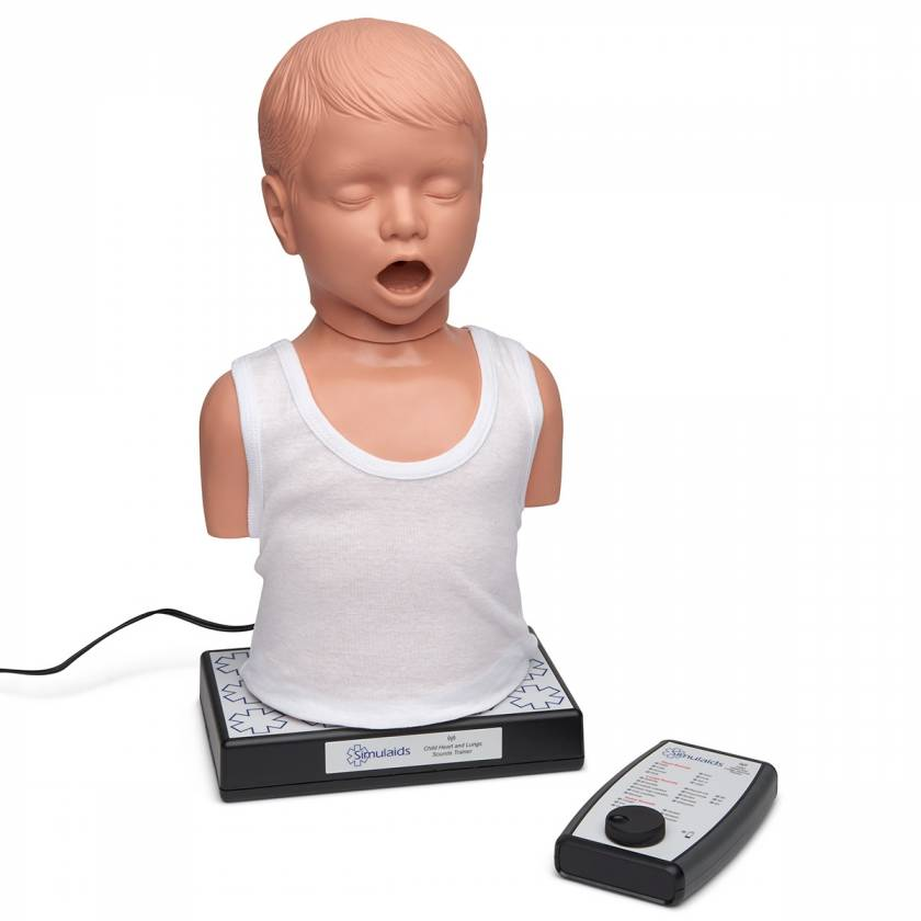 Simulaids Child Heart and Lungs Sounds Trainer
